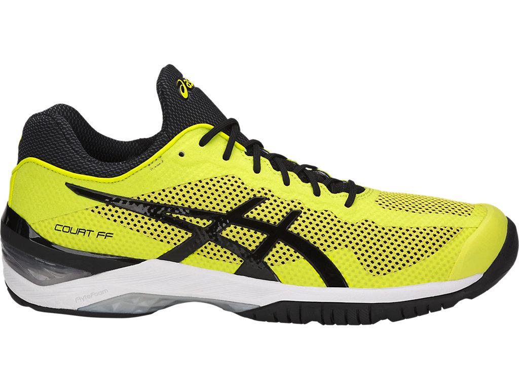 Australian Volleyball Warehouse - Asics Gel-Court FF - Yellow Black ... c015ffeefd535