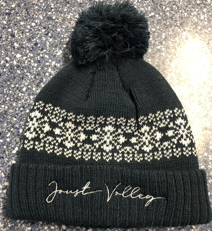 Joust Volley Bobble Beanie - Navy