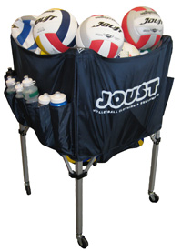 Australian Volleyball Warehouse Joust Ball Trolley